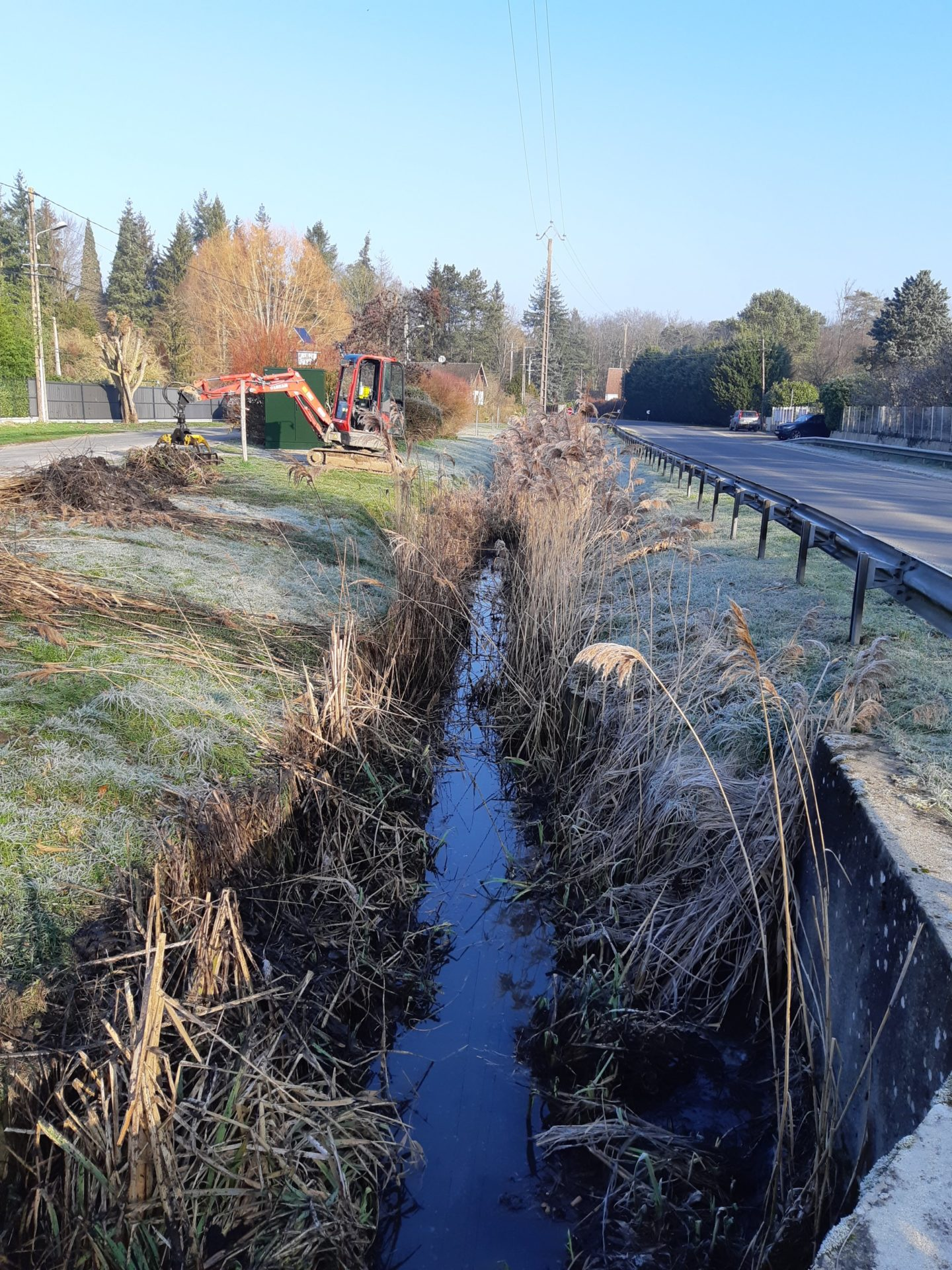 Le programme d'entretien 2019 de la rivière École